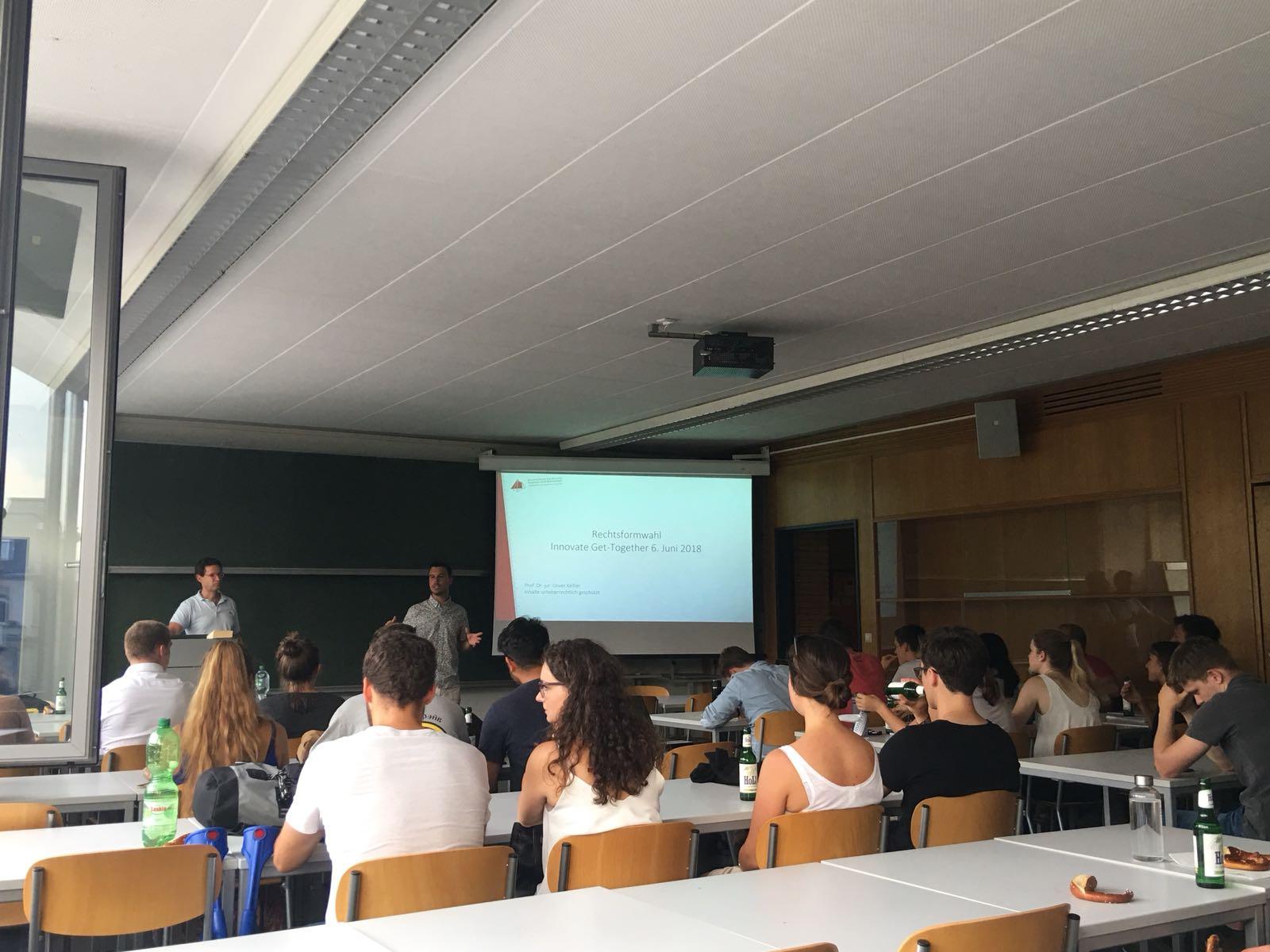 Gründertreff mit Prof. Dr. Keßler